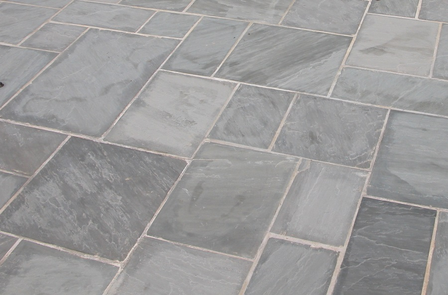 How To Cut Circle In Tile Grey Sandstone