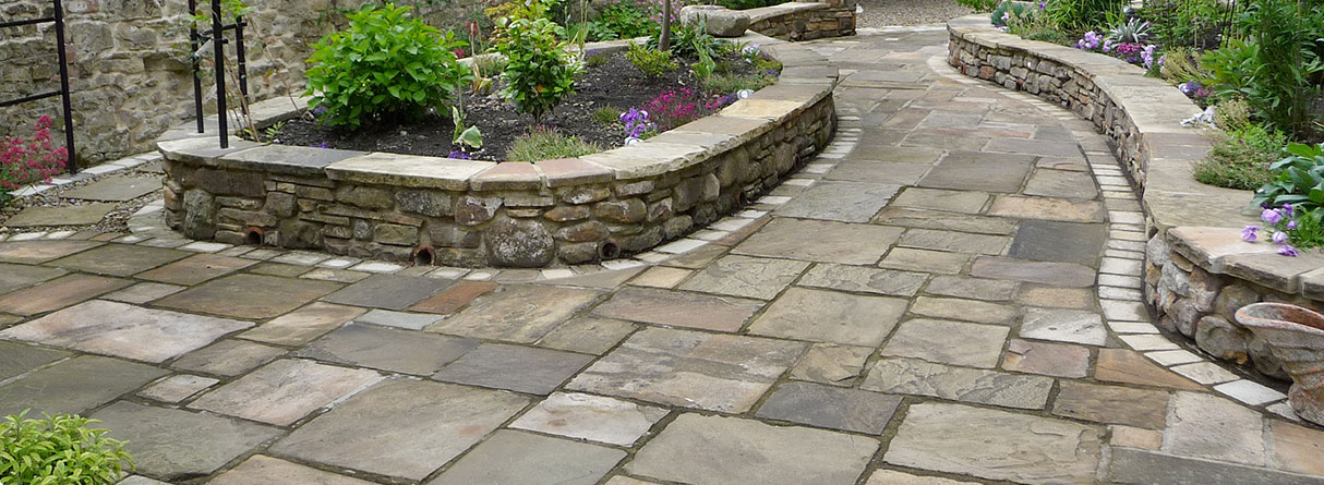 Attractive LOOKS LIKE YORKSTONE BUT 1/2 PRICE!