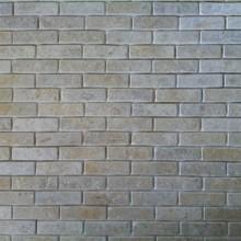 Grey Gold Tumbled Brick Slips 2 SMALL