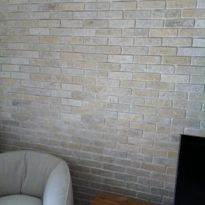 Grey Gold Tumbled Brick Slips 3SMALL