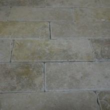 Grey Gold Tumbled Brick Slips MIKE 4 SMALL