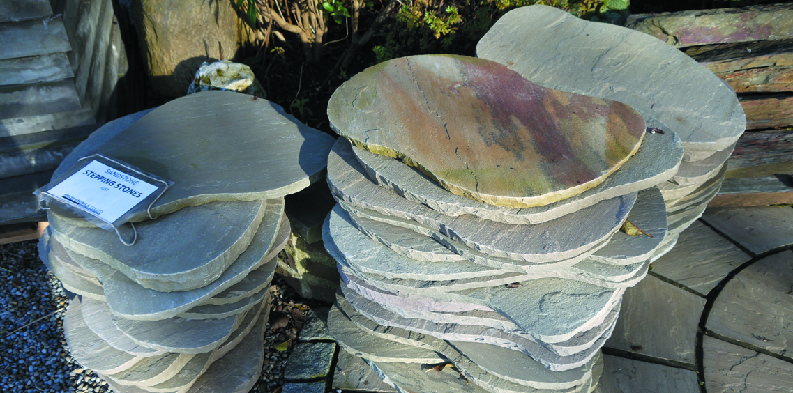 Natural Limestone Stepping Stones