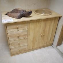 Clearance Gum Wood Medium Sink Unit
