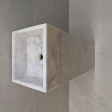 stand alone white marble SMALL