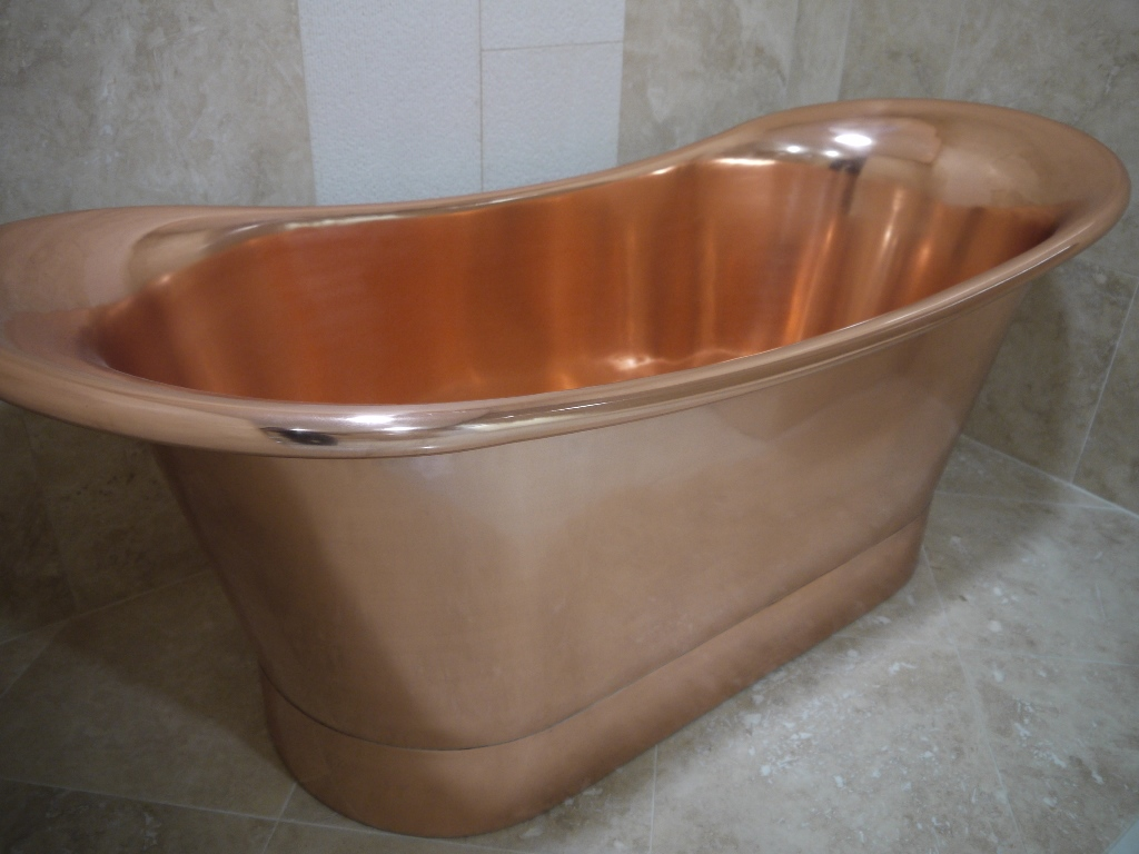 Copper Bath Tub 1900mm Only 163 1850 Vat Prices Paving