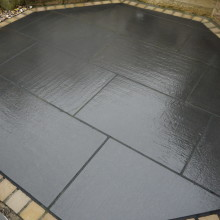 Reclaimed Granite display
