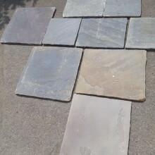 reclaimed sandstone in car park 2s
